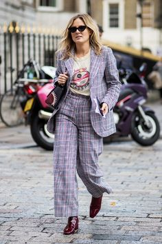 We're getting preppy outfit ideas from British It girls. See them here.