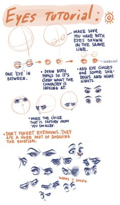 well, I tried. this is what happens when I try to explain things in English… I am playing on doing one more Hair tutorial, because many people asked about it.  I am not good enough for doing any anatomy tutorials, so..just this for now.    I forgot to say that the only thing I do to make a difference between guys eyes and girls eyes are eyelashes (well girl can have short too, or very long if she has make up) and guys' eyebrows are mostly wider, but girls can have wide too, but that