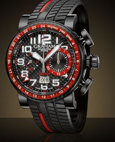 Graham Silverstone Stowe GMT Red Specs Pictures Price - Luxury Watches