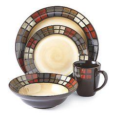 Pfaltzgraff® Calico Dinnerware Set found at  sc 1 st  Pinterest & Gibson Home Studio Platinum 50-Piece Dinnerware Set. Bed Bath and ...