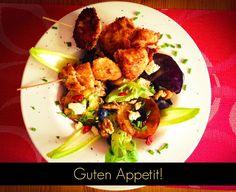 #salad #ensalada #fresh #otoño #apple #chicken : Ingredientes, paso a paso en el #blog