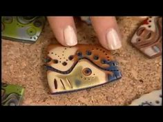 Workshop mokume gane polymer clay Necklace made of polymer clay with this technique. - YouTube
