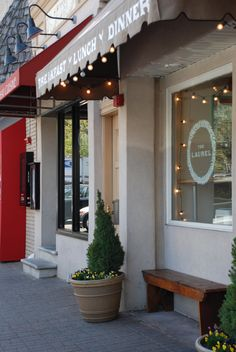 The Laurel for breakfast, lunch or dinner in the charming downtown village of Maplewood NJ