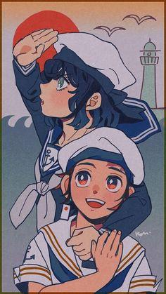 Read Kimetsu No Yaiba / Demon slayer full Manga chapters in English online! Anime Wolf, Manga Anime, Me Anime, Anime Demon, Anime Art, Demon Slayer, Slayer Anime, Anime Angel, Animé Fan Art