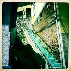 Atajos a través de escaleras abruptas