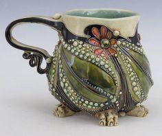 Innovations for Interior Designs with Ceramics Pottery Mugs, Ceramic Pottery, Pottery Art, Ceramic Bowls, Ceramic Art, Porcelain Ceramics, Porcelain Jewelry, Fine Porcelain, Clay Mugs