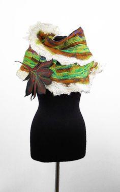 Gevilte sjaal-omslagdoek voelde doek die Nuno Nuno met door filcant