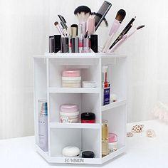 ECVISION Makeup Organizer Large Capacity 360°Rotating Acr... https://www.amazon.com/dp/B00NQVSY9O/ref=cm_sw_r_pi_dp_x_paWHybB7B3QW1