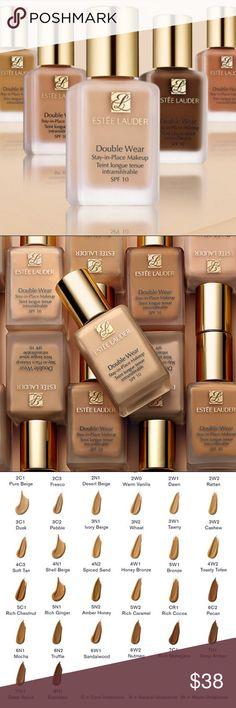 Estée Lauder Double Wear Foundation 100% Authentic. New/unused. Shades available are listed under size. Estee Lauder Makeup Foundation