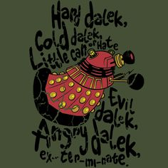 Hard Dalek, Cold Dalek...