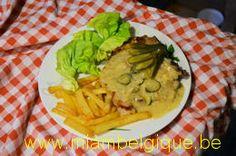 Cote de porc al'berdouille, recette du site www.miambelgique.be