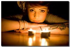 Jessie - Candle Lit Portrait by ChrisBailey85, via Flickr