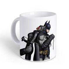 Taza Batman. Batman & Catwoman látigo