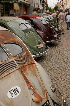 Any one will do! Split window ragtop bugs, the ultimate vintage VW Beetle!