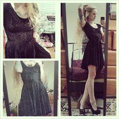 Burned Velvet Evil Cheerleader Dress | Black Milk Clothing