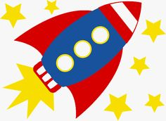 Rockets and Space Theme - ClipArt Best