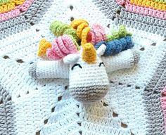 Mantas de apego en crochet