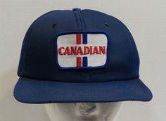 Molson Canadian Beer Vintage Baseball Truckers Hat Cap Snapback #PromoWear #BaseballCap