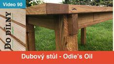 Oak table - Odie's Oil Oak Table, Epoxy, Home Projects, Wood Art, Workshop, Channel, Outdoor Decor, Oil, Youtube
