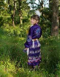 Jingle Dancer Child - Cherokee by Scott Ridgway