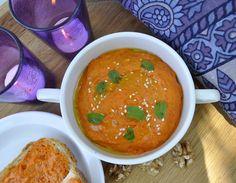 reminiscence kitchen: Muhammara - dip fra midtøsten med grillet paprika og valnøtter