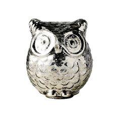 Glass owl.
