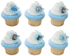 Frozen Cupcake Rings