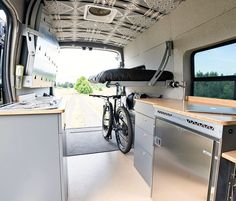 Drop it down, flip it up, open the doors and look forward to the road ahead! DM for details. Motorhome Interior, Campervan Interior, Diy Interior, Van Conversion Interior, Camper Van Conversion Diy, Slide In Camper, Car Camper, Bike Wagon, The Doors