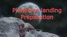 Space Engineers PLANETS - Landing preparation - THE BLUES