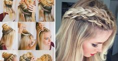 18 Cute Hairstyles You Can Do in Under 10 Minutes Fuerza Natural, Cute Hairstyles, Dreadlocks, Hair Styles, Inspiration, Beauty, Double Braid, Amazing Hairstyles, Projects