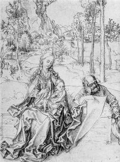 Holy Family - Albrecht Durer