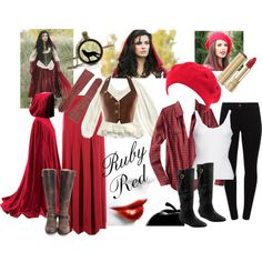 """""""Ruby Red"""" by just-jimmie on Polyvore"""