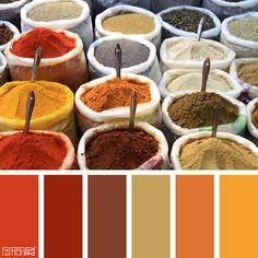 Color Palette: Red, Orange. If you like our color inspiration, sign up for our monthly trend letter here! http://patternpod.us4.list-manage.com/subscribe?u=524b0f0b9b67105d05d0db16a&id=f8d394f1bb&utm_content=buffer847d9&utm_medium=social&utm_source=pinterest.com&utm_campaign=buffer