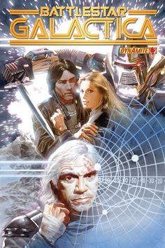 Alex Ross-BattleStar Galactica #4 cover Comic Art