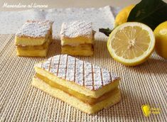 Merendine fatte in casa al limone, ricetta facile. Ricetta soffici merendine con crema al limone per la colazione di grandi e bambini (anche senza glutine)