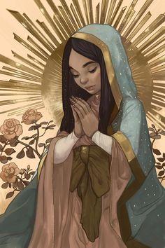 Madrecita, an art print by Karla Rodríguez
