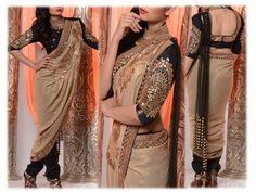 Swati Agarwal Bridal Couture Info & Review | Bridal / Trousseau Designers in Kolkata | Wedmegood Dhoti Saree, Anarkali, Sarees, Online Wedding Planner, Indian Fashion, Womens Fashion, Sari Blouse, Indian Attire, Indian Bollywood