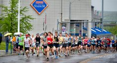 May Greater Binghamton Bridge Run half marathon Running Half Marathons, Race Party, Small Town Girl, Small Towns, Bridge, Racing, Wonder Woman, Goals, Explore