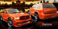 1998 dodge durango customized | 98-03 99 00 01 02 Dodge Durango 010 Body Kit by Sarona