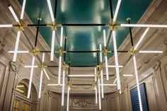 Palazzo Fendi by Dimore Studio Luxury Decor, Luxury Interior, Luxury Furniture, Interior Architecture, Cool Lighting, Lighting Design, Pendant Lighting, Custom Lighting, Lighting Ideas