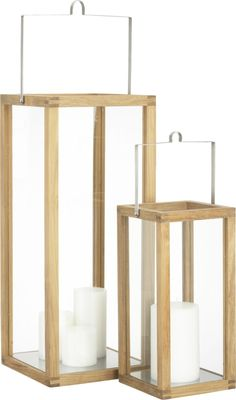 Crosby Lanterns  | Crate and Barrel