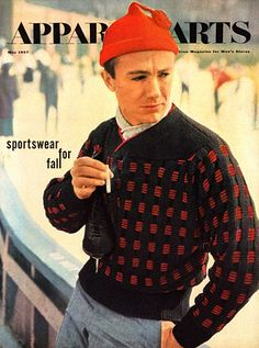 1957 lovely tassel ;) The GQ Cover Portfolio: The Magazine: GQ