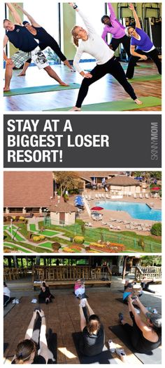 Need low calorie meal plans and tips on how to live a healthy lifestyle?  Then check out how to stay at a Biggest Loser resort.