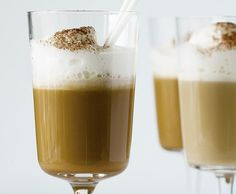 Cappuccinofrappé Pint Glass, Pudding, Beer, Tableware, Desserts, Food, Kochen, Tips, Rezepte