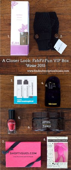 The Winter 2015 FabFitFun box featured a variety of full-sized products and accessories to add a bit of style this Winter. Read our full FabFitFun Review!
