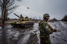 Winter 2015/2016 : dirty war in Ukraine, separatists units...