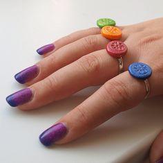 Fimo orient IX. Fimo korálek o průměru 14mm. Základ ječervená placka s otiskem růžového pudru. Prstýnek má zakladní průměr 18mm, lze zvětšovat. Sada s náhrdelníkem a náušnicemi. -polymer by teruberu Druzy Ring, Rings, Jewelry, Fimo, Jewlery, Jewerly, Ring, Schmuck, Jewelry Rings