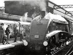 The locomotive Bittern arrived at Aberdeen Joint Station on its last run in September 1966.