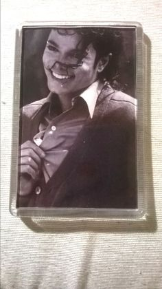 IMAN  ACRILICO DE Michael Jackson   MEDIDA 7X5  Fridge Magnets