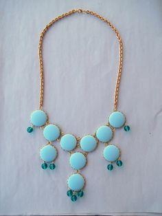 Egyptomaniac the Shopping Maniac: Craft Time: J Crew Bubble Necklace